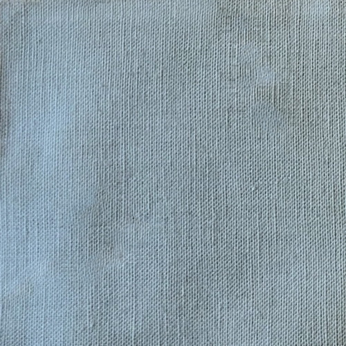 100% Linen Robins Egg Blue